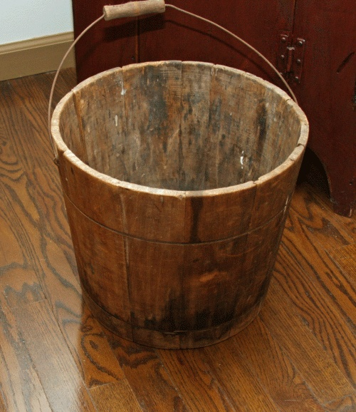 30 Best Images About Wooden Buckets Vintage On Pinterest