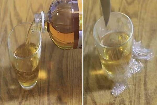 almaecet egy pohárba