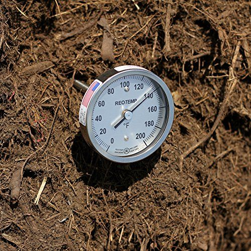 """REOTEMP A36FR-F43 Super Duty Compost Thermometer with Fast Response Tip - 36"""" Stem, Fahrenheit > 36"""" Stem Length, with 20% Faster Response Time Made in the USA Super Duty 3/8"""" Stem Diameter & Fast Response 1/4"""" Tip Check more at http://farmgardensuperstore.com/product/reotemp-a36fr-f43-super-duty-compost-thermometer-with-fast-response-tip-36-stem-fahrenheit/"""
