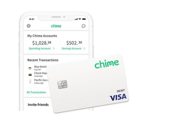 Chime banking banking services visa debit card banking app