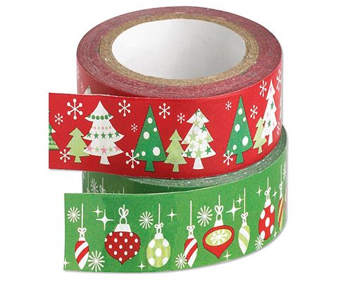 Easy Tear Tape £5  2 rolls of easy tear tape to make your Christmas presents look too good to open, one in red and one in green. Each roll measures 10m.  KLife Kleeneze Xmas