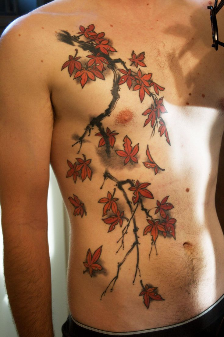 japanese branches tattoo - Google Search