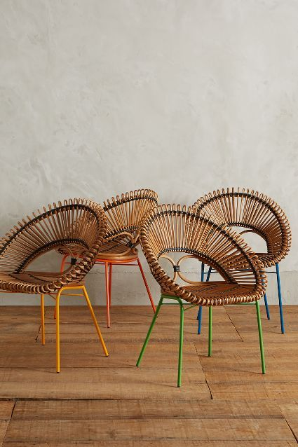 Front porch seating. Looping Apasra Chair - anthropologie.com