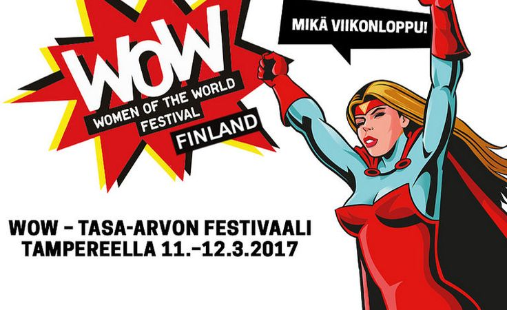 WOW - Women of the World -festivaali - Tampere-talo, Tampere - 11. - 12.3.2017 - Tiketti