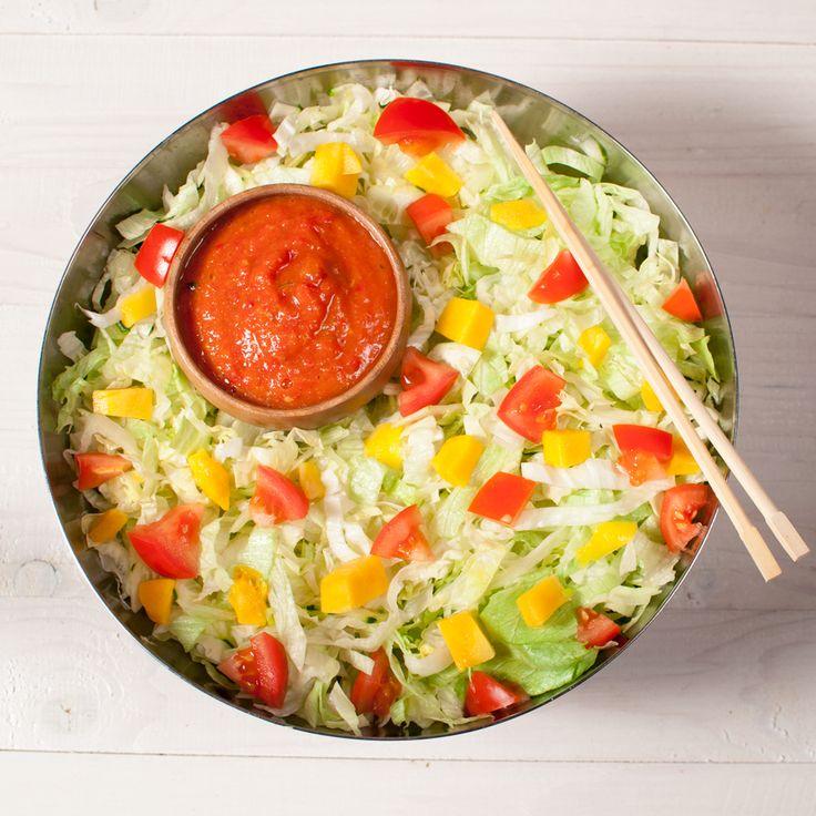Raw Savory Mango Salad Dressing (the best ever!)