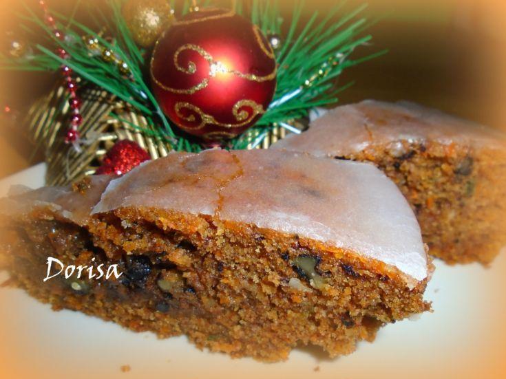 Fotorecept: Vianočný mrkvový koláč