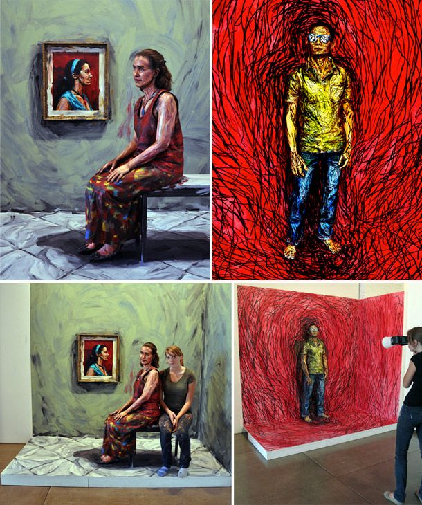 Painted People by Alexa Meade