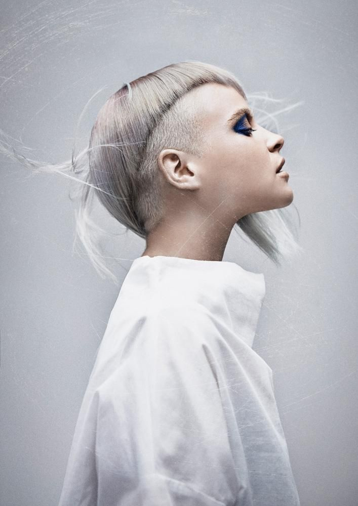 www.estetica.it Haircut Hair: Travis Bandiera @Royals Hair Sidney / Styling: Danielle Soglimbene / Make up: Chereine Waddell / Photo: Daniel Knott