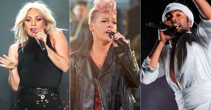 Lady Gaga, Pink, Childish Gambino to Perform at 2018 Grammy Awards #headphones #music #headphones