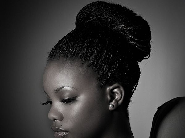 Braided Updo Styles For Natural Hair: Braid Hairstyles For Black Women