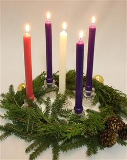 Beautiful beeswax Advent Candles this Christmas for Your Family