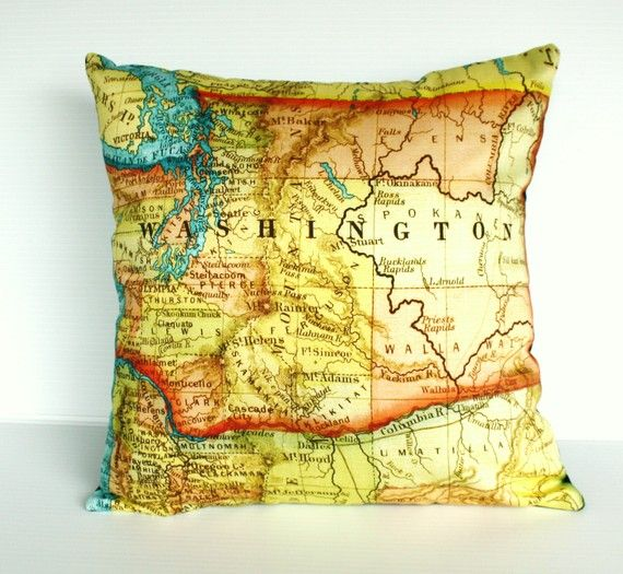 gotta have a WA state, too!  If only there were MT, NE, MD and ID pillows too..all the places I have lived :)