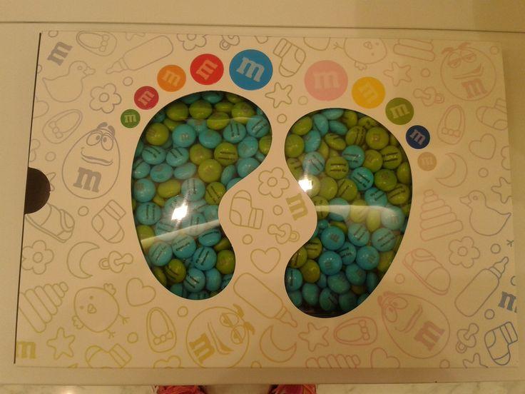 idea regalo baby shower. M&M'S personalizzati