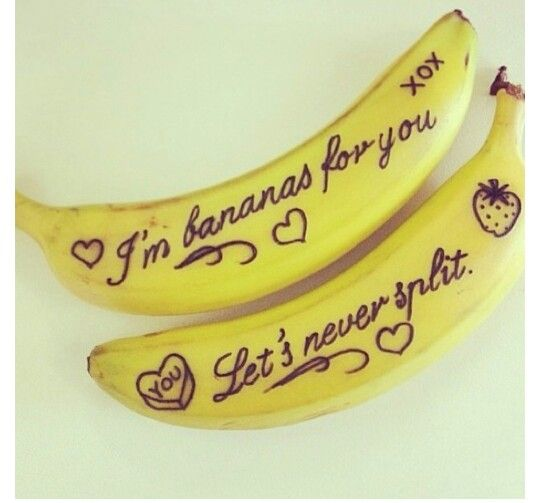 Banana love notes <3