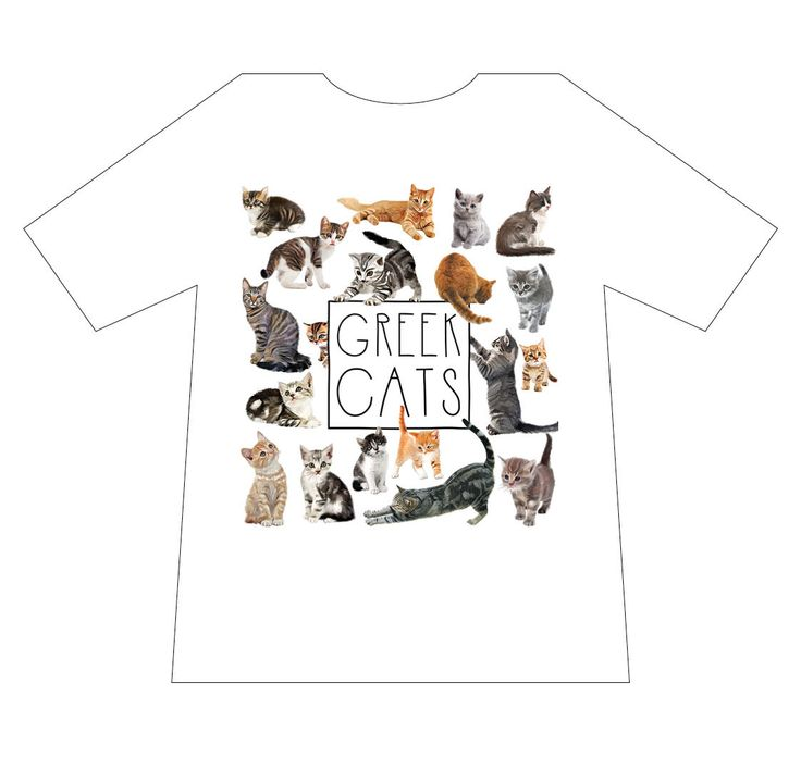 Nature T-shirts, Greece, Cats, T-shirt. mediterraneo editions, www.mediterraneo.gr
