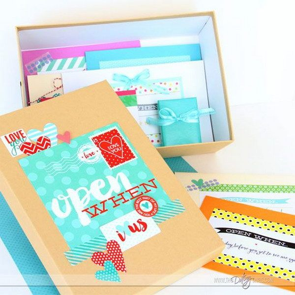 Best Open When Letter Ideas Images On   Gift Ideas