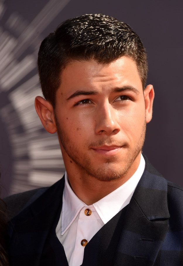 And can we talk about his signature gaze? Yeah, this one. The gaze that could basically impregnate you. | 27 Times Nick Jonas Made Us The Thirstiest In 2014