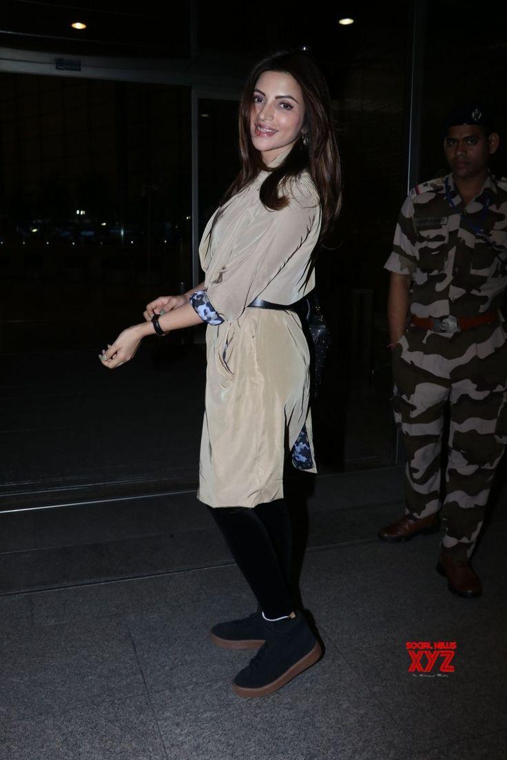 Mumbai: Shama Sikander seen at airport - Social News XYZ