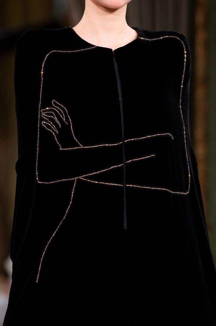 Armani Privé auf der Couture Herbst 2018 (Details)   – Crazy ideas