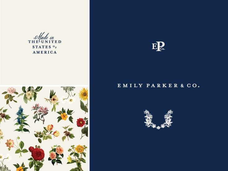 More elements for this brand. Worked on creating graphic florals that weren't too out of place when in close proximity to this realistic floral pattern.