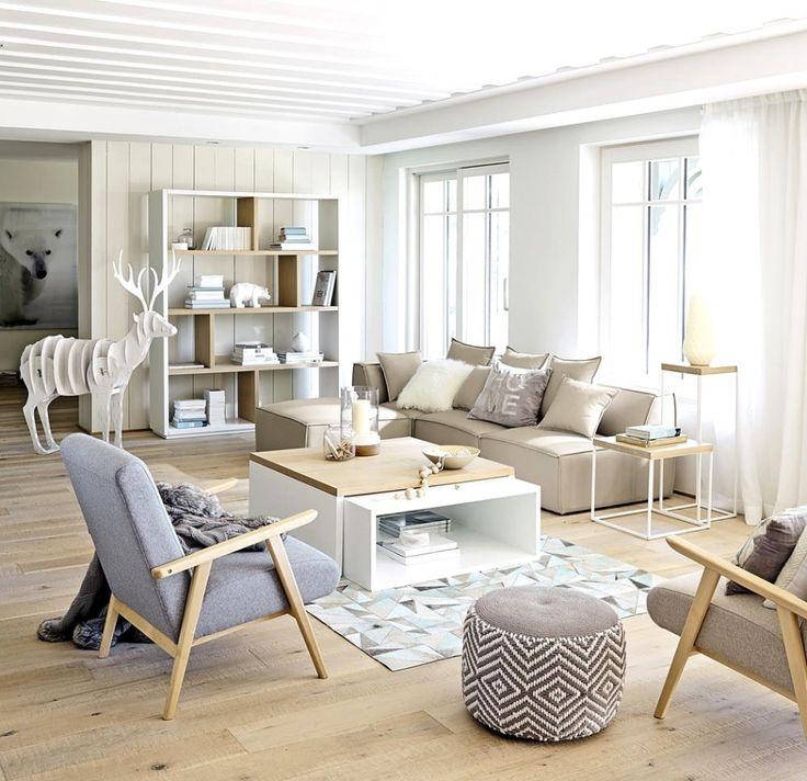 Die besten 25+ Nordischer stil Ideen auf Pinterest nordisches - wohnzimmer skandinavischer stil