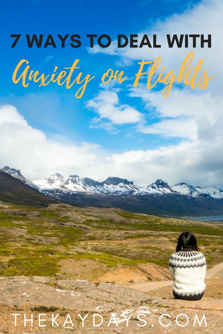 Long flights are never pleasant, but there are ways to reduce your anxiety and discomfort. Read on to learn how I combat anxiety on flights. | Travel | Airlines | Long flights |