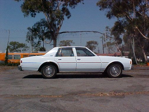 My very first car was a 1979 Chevy Impala!  Oh how I wish I still had it now!