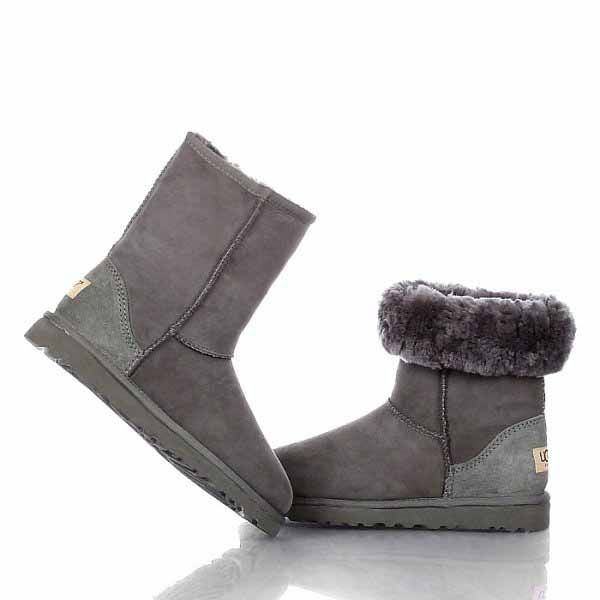 grey classic short ugg boots uk