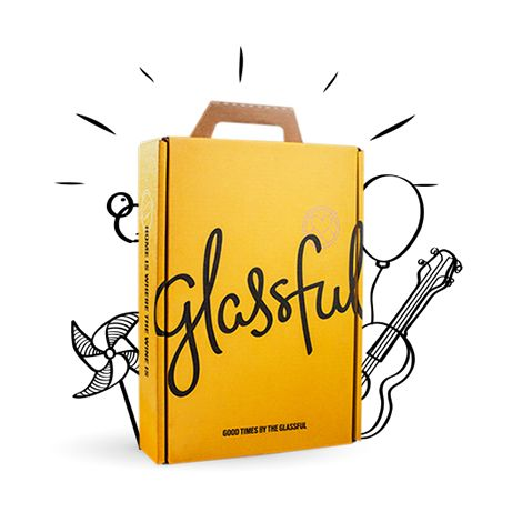 A new kind of wine club, Glassful is a monthly wine delivery service that brings you wine based on your tastes.
