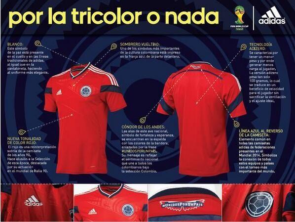 Me gusta más que la principal. #Fútbol #Colombia