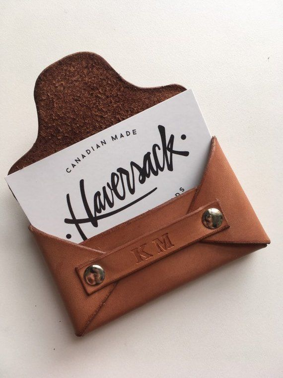 Business Card Holder Leather Card Holder Leather Leather Business Cards Leather Business Card Holder