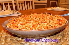 American Chop Suey  A retro dish that's been a family favorite for years. So easy, so good!