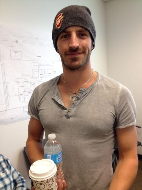 Eoin Macken. Hot Irish guy, who, judging from his hat, likes Arsenal. Which might actually make him the perfect man.