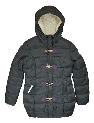 Superdry Womens Puffle Jacket - Grey - Christmas Gift! – Last One - Size Large - Superdry Best Seller