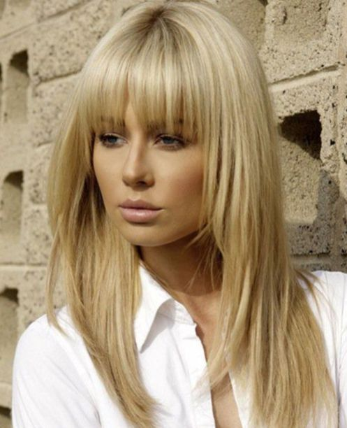 photo hair style 50 awesome fringe hairstyle ideas for medium hair 8091