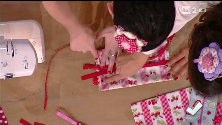 Impariamo a cucire un astuccio con Emanuela Tonioni - Detto fatto del 16/04/2014