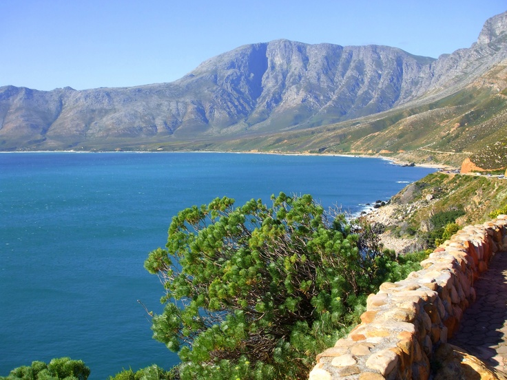 Scenic drive Western Cape, South Africa