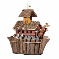 Noah's Ark birdhouse at Gift WarehouseIdeas, Ark Birdhouses, Style 31248, Fancy Fun, Noah Ark, Gardens, Birds House, Feeders, Mothers Day Gift