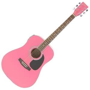 Electro Acoustic Guitar PINK I could use that
