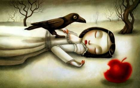 Snow White, re-imagined by Benjamin Lacombe: Snow White, Snowwhite, Illustrations, Fairy Tales, Art, Benjamin Lacombe, Fairytale, Snow White
