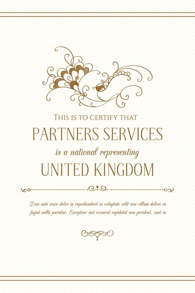 Certificate Design Template Graphic Design Page Wedding Invitation Decorative Floral Frame Weddinginvitation Wedding Invitations Wedding Guide Invitations
