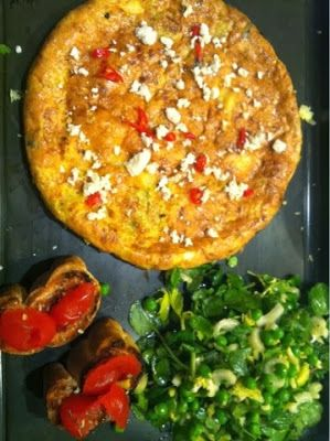 Cooking Jamie: 15 Minute Meals: Spring Frittata