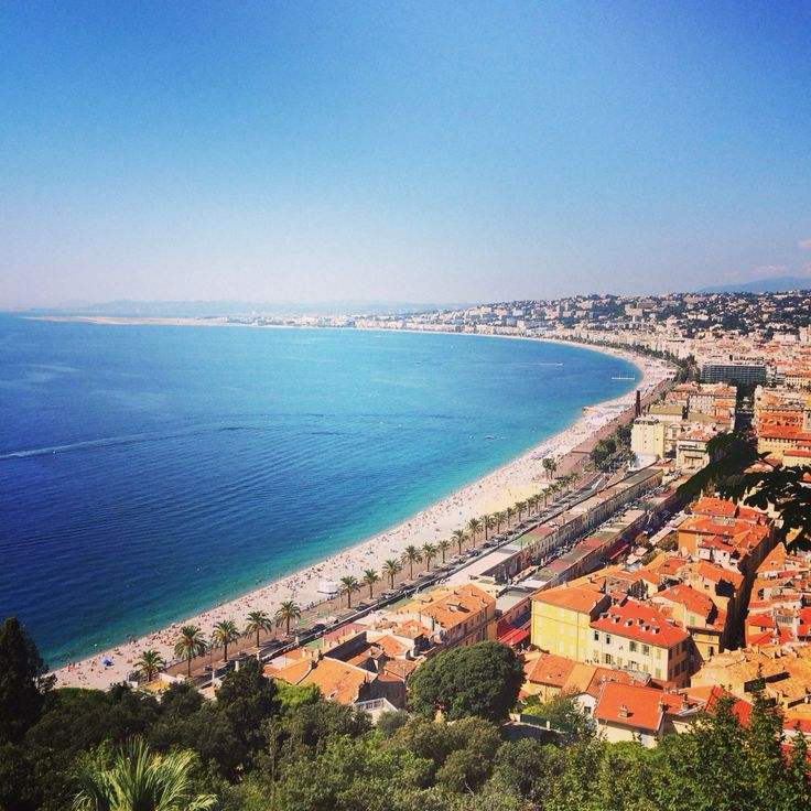 Beautiful view over Nice #Nice #southoffrance