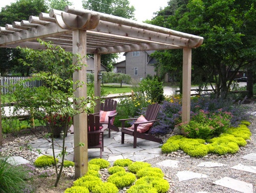 Rustic Pergola Design Ideas