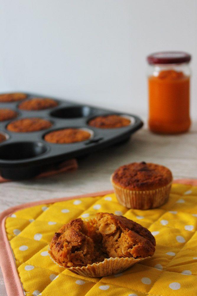 Letzte Woche haben wir die gesunden Kürbismuffins gebacken, die @nina_strada vor einiger Zeit für unseren Frühstücksblog gezaubert hat. Das ideale Frühstück für Leute, die andauernd auf dem Sprung sind! 😉