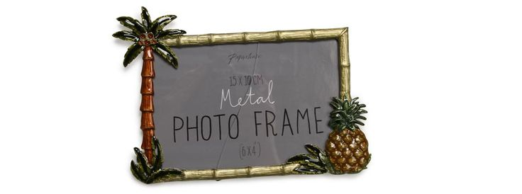 These pineapple and palm tree frames from Paperchase are perfect for adding a hint of tropical-ness to your wedding décor – use them to display some favourite photos of you both.