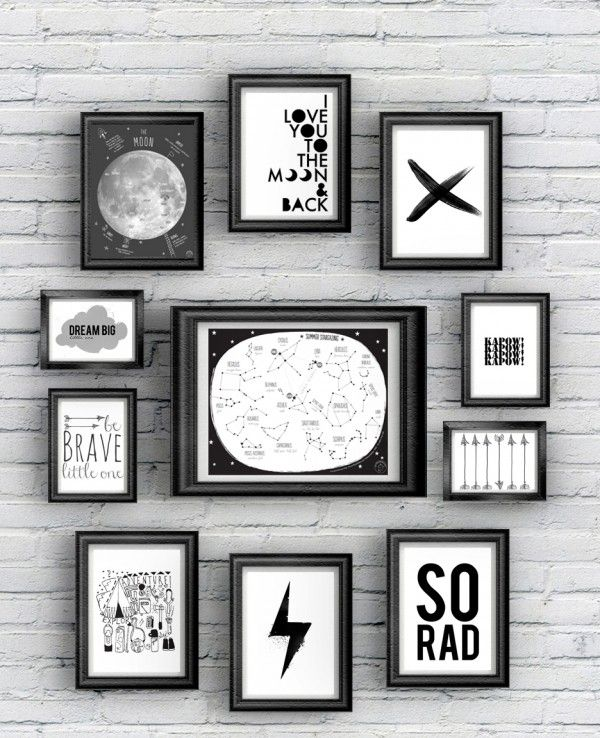 Printables for Kids' Rooms