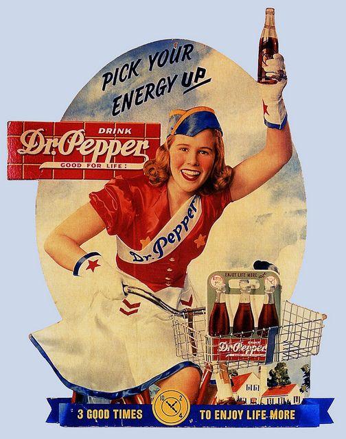 Peggy Pepper 1940 #ads #marketing #creative #Print Ads #publicidad gráfica. Entre en el fantástico mundo de elcafeatomico.com para descubrir muchas más cosas! #advertising #retro #vintage