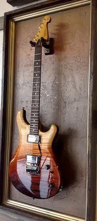 "G Frames ""Copper Field"" Guitar Display Case"