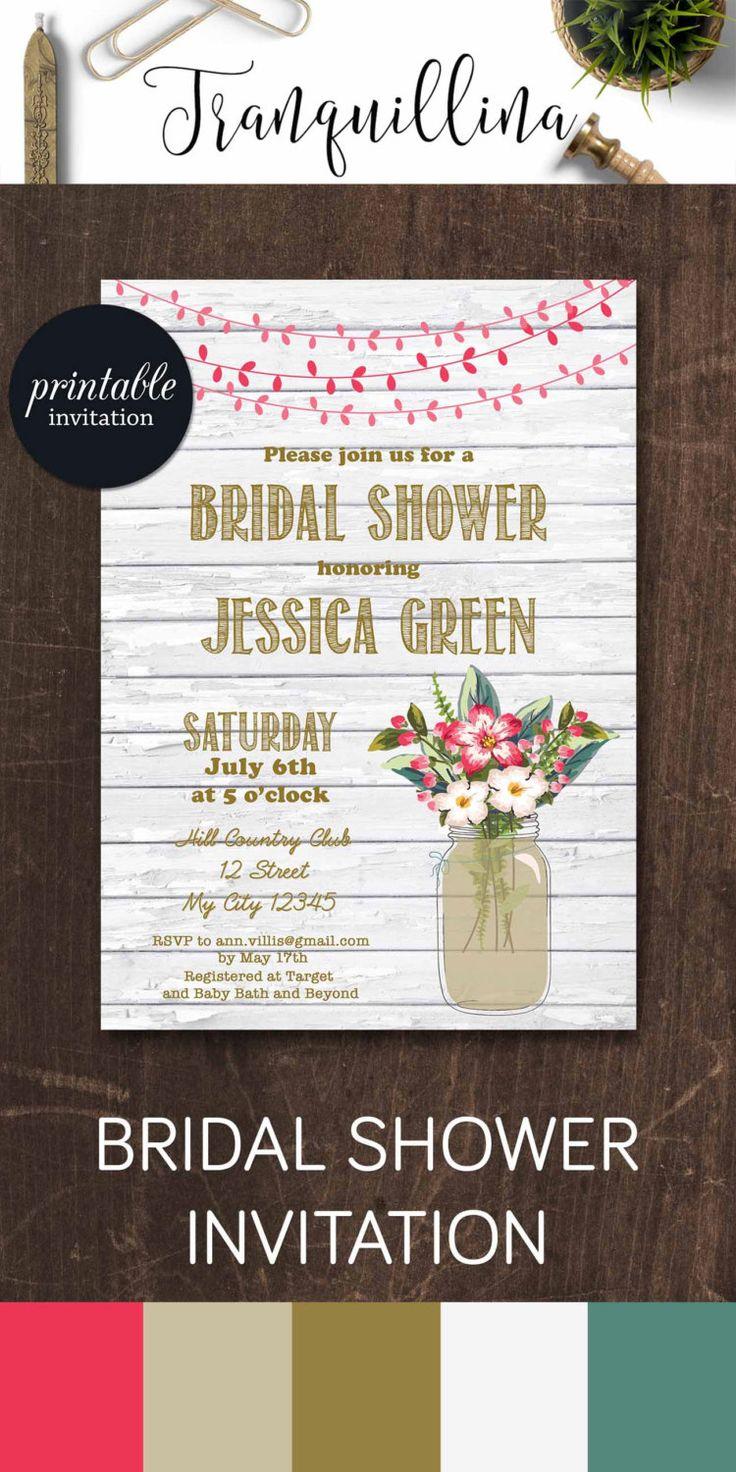574 best Wedding Invitations Bridal Shower Party Invitations